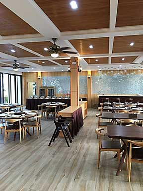Restaurant at Airai Forrest Villa