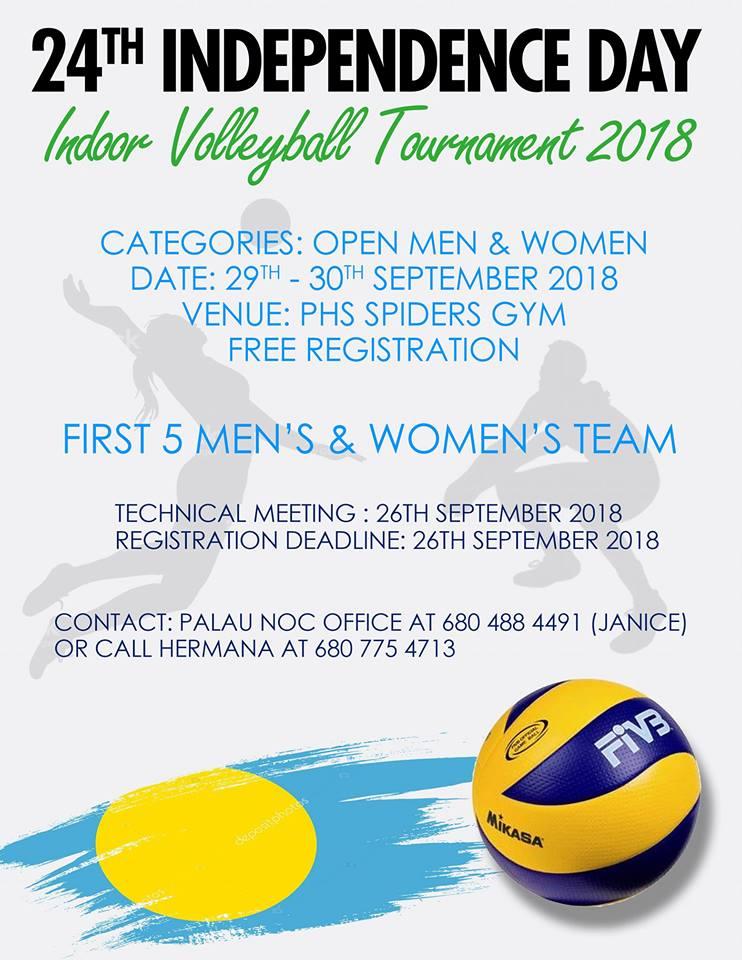 Indoor Volleyball 7 Tournament 2018