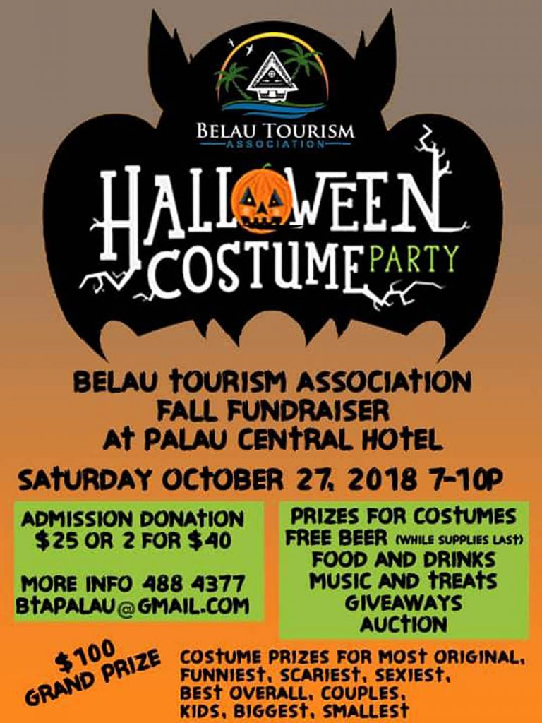 Belau Tourism Association - Halloween Costume Party