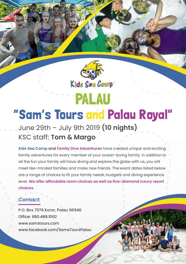 Kids Sea Camp -  Sam's Tours and Palau Royal