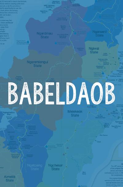 Babeldaob-Map