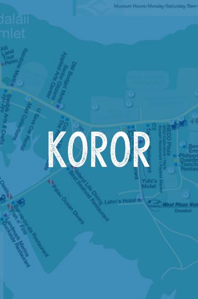 Koror-Map