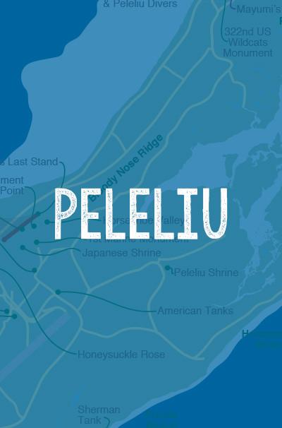 Peleliu-Map