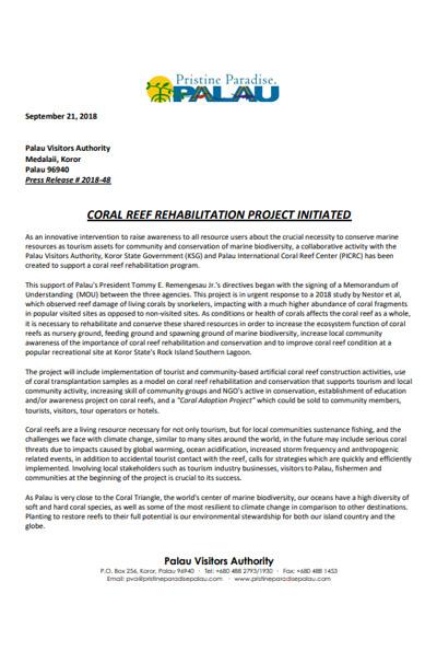 Press-Release-coral-Transplantation
