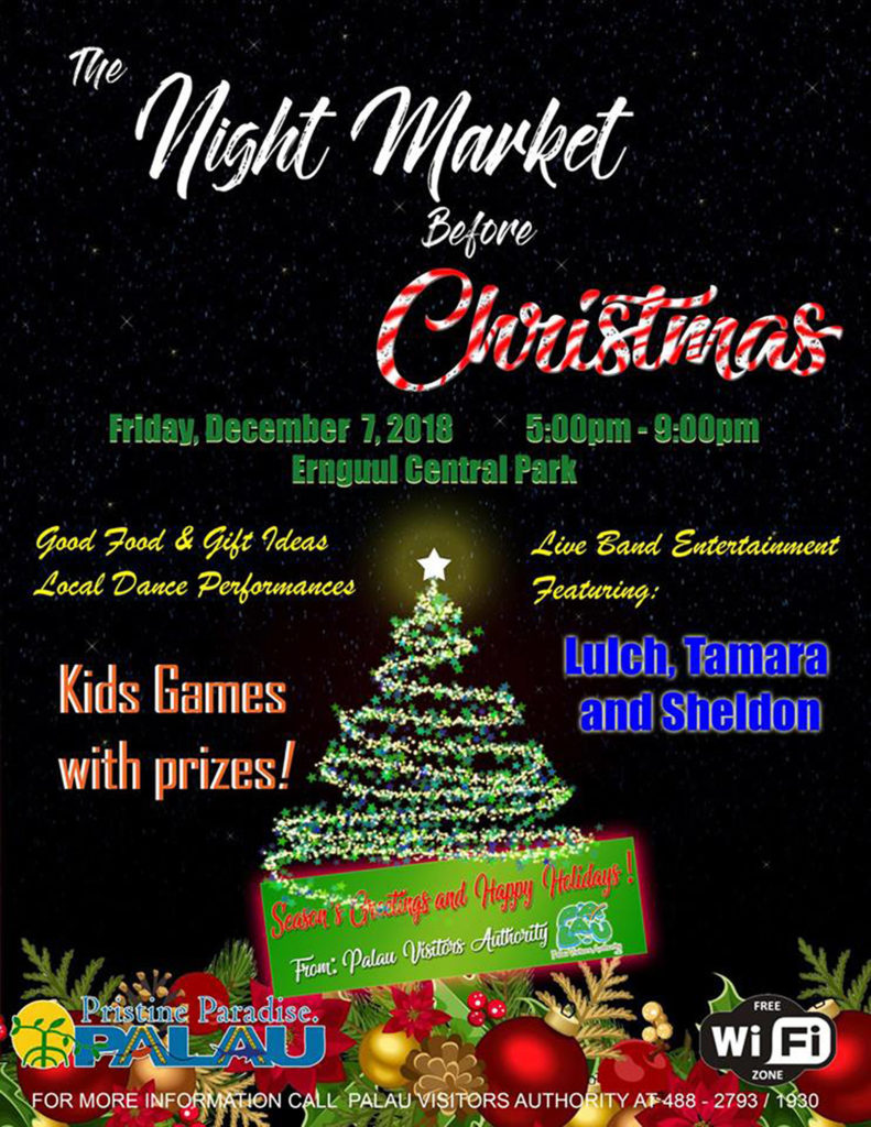 The Night Market before Christmas